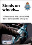 NYP16-0032 - Poster: Vehicle crime